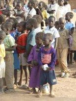 Sudanese Boys Standing