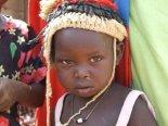 sudanese child in hat