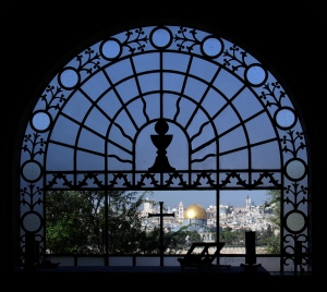 Jerusalem_Dominus_flevit_BW_1
