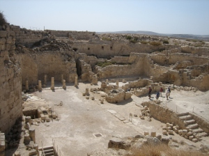 Interior of the Herodium